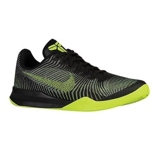 (取寄)Nike ナイキ メンズ コービー メンタリティー 2 バスケットシューズ Nike Men's Kobe Mentality 2 Black Volt Wolf Grey 【コンビニ受取対応商品】