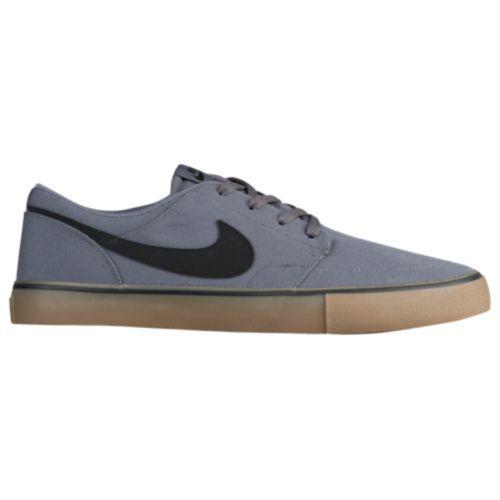 (取寄)Nike ナイキ メンズ エスビー ポートモア 2 ソーラーソフト スニーカー スケートボード Nike Men's SB Portmore II Solarsoft Dark Grey Black Gum Light Brown