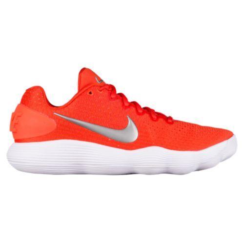 (取寄)Nike ナイキ メンズ リアクト ハイパーダンク 2017 ロー バスケットシューズ スニーカー Nike Men's React Hyperdunk 2017 Low Team Orange Metallic Silver White