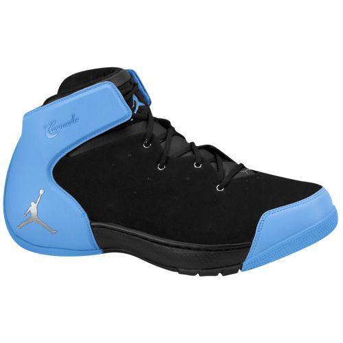 (取寄)ジョーダン メンズ メロ 1.5 Jordan Men's Melo 1.5 Black Metallic Silver University Blue