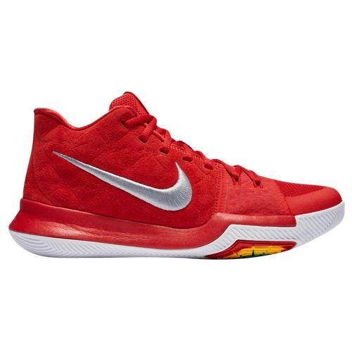 (取寄)Nike ナイキ メンズ カイリー 3 Nike Men's Kyrie 3 University Red Wolf Grey