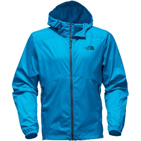 (取寄)ノースフェイス メンズ フライウェイト フーデッド ジャケット The North Face Men's Flyweight Hooded Jacket Hyper Blue/Hyper Blue