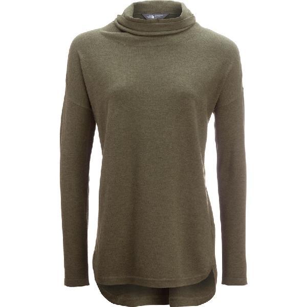 (取寄)ノースフェイス レディース ウッドランド  チュニック セーター The North Face Women Woodland  Tunic Sweater Burnt Olive Green Heather