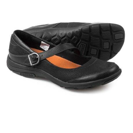 (取寄)メレル レディース ダシー メアリー ジェーン シューズ Merrell Women Dassie Mary Jane Shoes Black