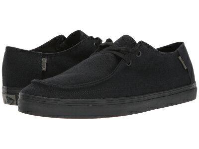 (取寄)Vans(バンズ) スニーカー ラタ バルカ SF メンズ  Vans Men's Rata Vulc SF  (Hemp) Black/Black