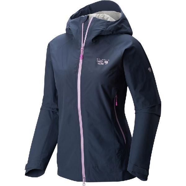 (取寄)マウンテンハードウェア レディース クエーザー ライト ジャケット Mountain Hardwear Women Quasar Lite Jacket Zinc