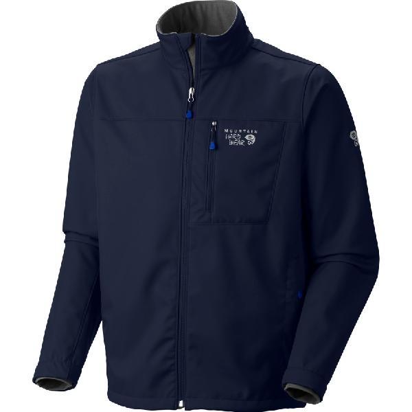 (取寄)マウンテンハードウェア メンズ アンドロイド 2 ソフトシェル ジャケット Mountain Hardwear Men's Android II Softshell Jacket Collegiate Navy