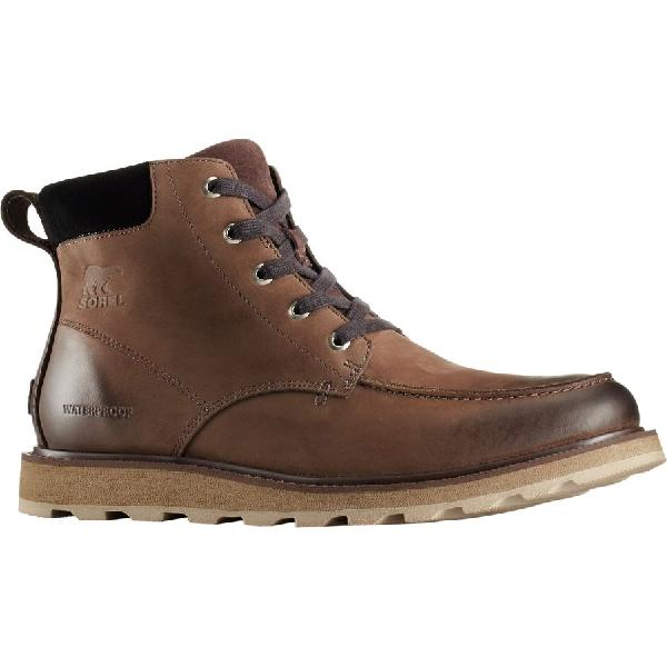 (取寄)ソレル メンズ マドソン モック トー ブーツ Sorel Men's Madson Moc Toe Boot Bruno/Black