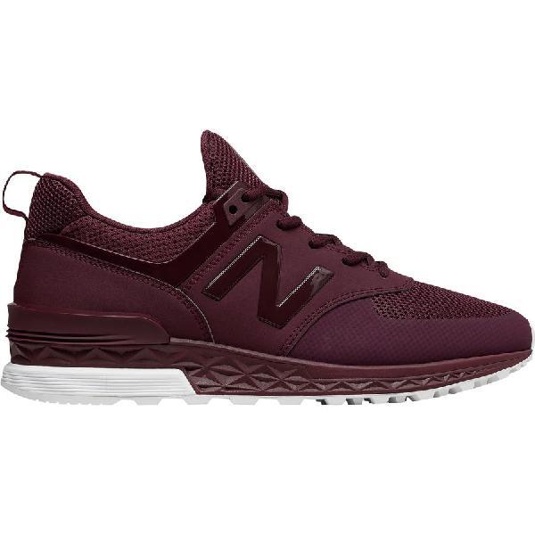 (取寄)ニューバランス メンズ 574スポーツ シューズ New Balance Men's 574 Sport  Shoe Burgundy
