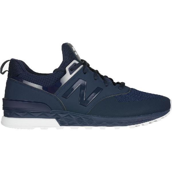 (取寄)ニューバランス メンズ 574スポーツ シューズ New Balance Men's 574 Sport  Shoe Navy/White