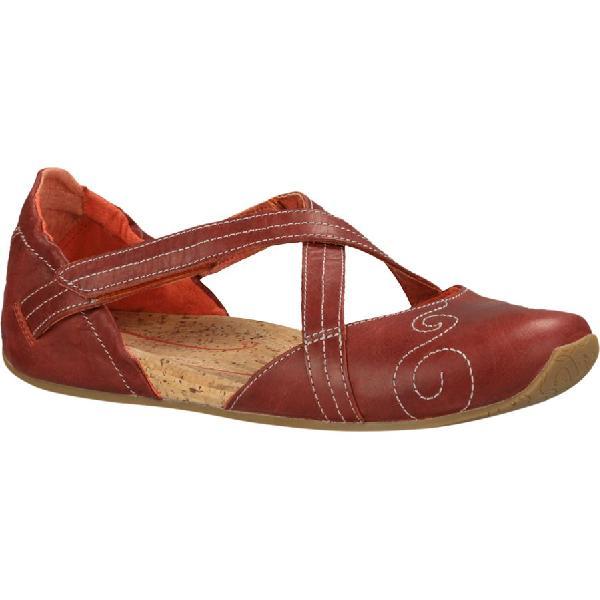 (取寄)アニュ レディース カルマ ラティチュード シューズ Ahnu Women Karma Latitude Shoe Red Stone 【コンビニ受取対応商品】