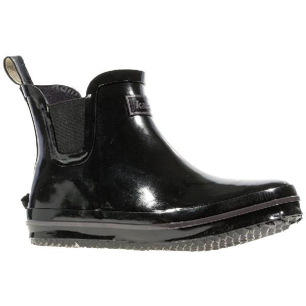 (取寄)カミック レディース シャロン ロー ブーツ Kamik Women Sharon Lo Boot Black 【コンビニ受取対応商品】