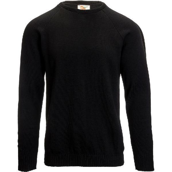 (取寄)ダックワース メンズ ルックアウト クルー セーター Duckworth Men's Lookout Crew Sweater Black 【コンビニ受取対応商品】