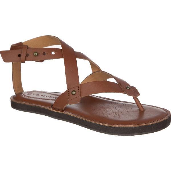 (取寄)コルソ コモ レディース スパ サンダル Corso Como Women Spa Sandal Brown Brushed Leather