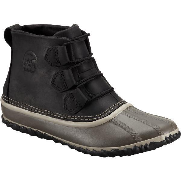 (取寄)ソレル レディース アウト 'Nアバウト ブーツ Sorel Women Out 'N About Boot Black