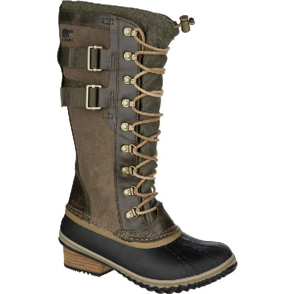 (取寄)ソレル レディース コンクエスト カーリー 2 ブーツ Sorel Women Conquest Carly II Boot Peatmoss/Glare