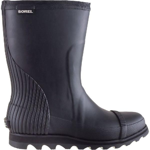 (取寄)ソレル レディース ジョアン ショート レイン ブーツ Sorel Women Joan Short Rain Boot Black/Sea Salt