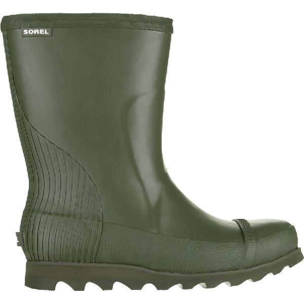 (取寄)ソレル レディース ジョアン ショート レイン ブーツ Sorel Women Joan Short Rain Boot Nori/Zest