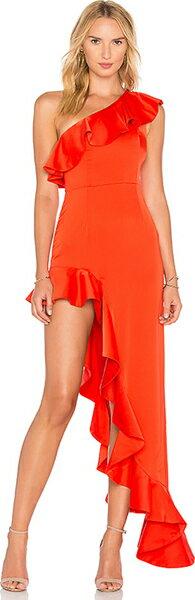 (取寄)ラバー  フレンズ レディース チャジティ ガウン イン レッド Lovers + Friends women's Chasity Gown in Red