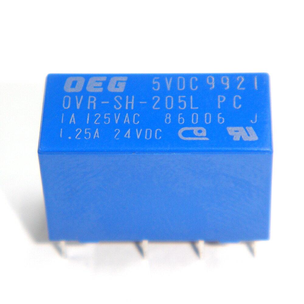 Kaito7693(50個) リレー 5VDC OVR-SH-205L 1A [TE Connectivity:OEG]