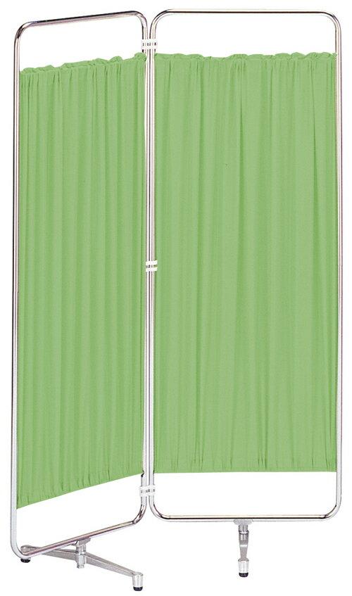 【送料無料】シンプルな通常カーテンスクリーン衝立 折り畳みAS-66-2(二つ折)W900×H1800(W450×H1800×2枚)(ブルー・グリーン・ベージュ・ピンク・ホワイト)【smtb-TK】【FS_708-10】