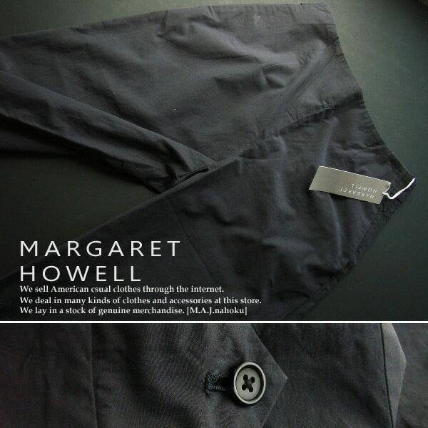 430新品★マーガレット・ハウエル MARGARET HOWELL★ワイドパンツc129★紺★II★WOMENS★
