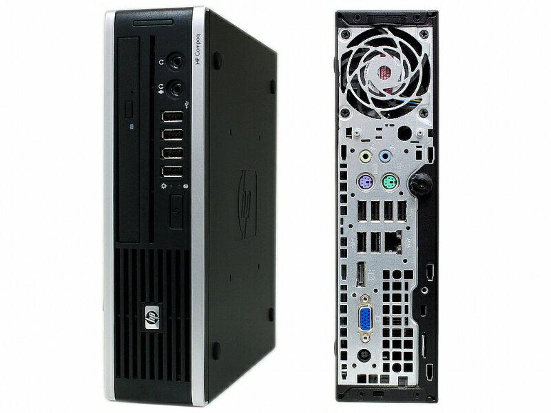 中古デスクトップPC Windows7Pro-64bit搭載!HP Compaq 8300USDT【中古】Corei5-3470プロセッサー2.9GHz  メモリ4GB HDD320GBDVDスーパーマルチ【KingSoft Officeインストール済み】◎