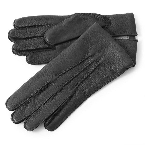 DENTS デンツ 5-1545 CAMBRIDGE レザー カシミア グローブ 手袋 手ぶくろ アームウェア カラーBlack/ブラック メンズ