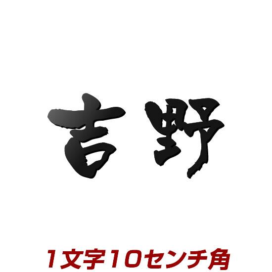 1文字価格 100mm角ステンレス製レーザーカット表札 stl3-100k 漢字タイプ10cm角 屋外で強い!赤サビの心配無し 文字色、書体が選べるオリジナル表札(ひょうさつ)