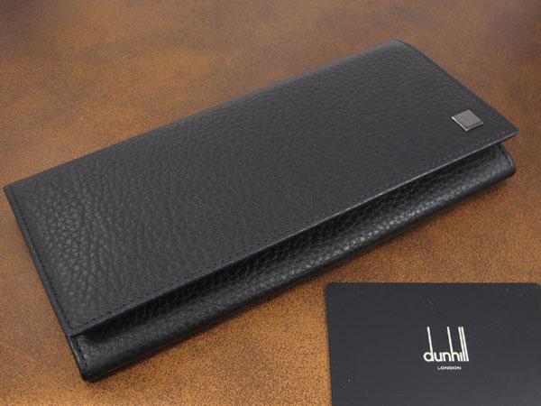 送料無料!お買得!DUNHILL ダンヒル 長財布 L2L710A  ブラック  黒 財布 メンズ メール便不可