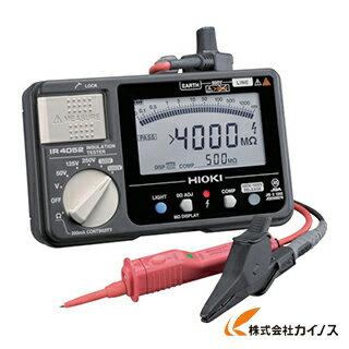 HIOKI 5レンジ絶縁抵抗計 スイッチ付きリード IR4052-11