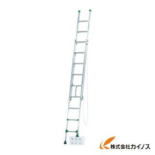 アルインコ 脚伸縮式二連はしご 5.3m 最大使用質量 100kg ANE53F
