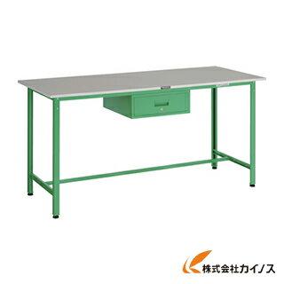 TRUSCO HRAE型立作業台 1800X750XH900 1段引出付 YG色 HRAE-1800F1