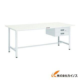 TRUSCO SAE型作業台 1800X900XH740 2段引出付 W色 SAE-1809F2