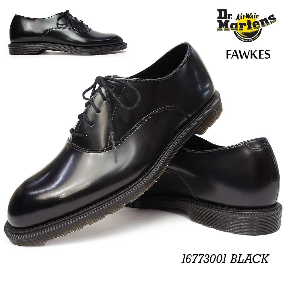ドクターマーチン フォークス 16773001 メンズ ビジネス 5Eye レザー オックスフォード Dr.MARTENS HENLEY FAWKES 16773001