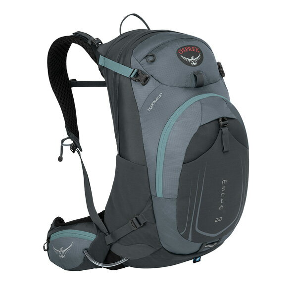 OSPREY(オスプレー) マンタAG 28/フォッシルグレー/S/M OS56031グレー リュック バックパック バッグ トレッキングパック トレッキング20 アウトドアギア