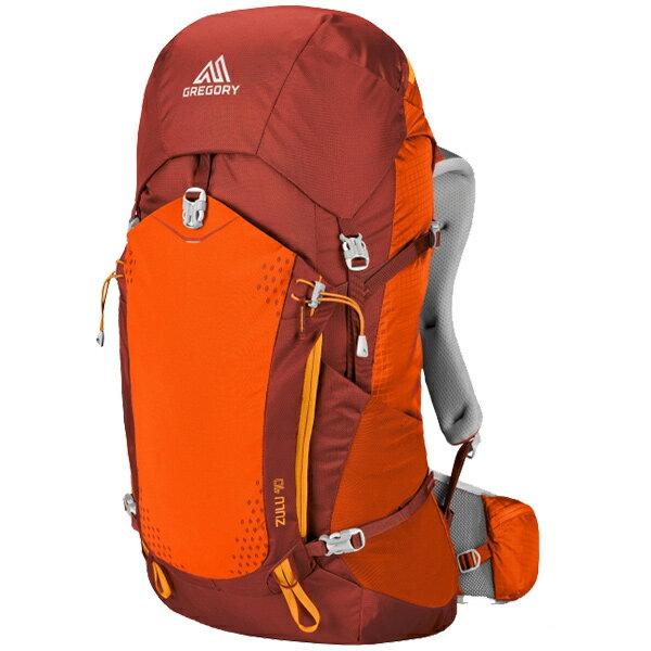 GREGORY(グレゴリー) ズール40/バーニッシュドオレンジ/M 68435オレンジ リュック バックパック バッグ トレッキングパック トレッキング40 アウトドアギア