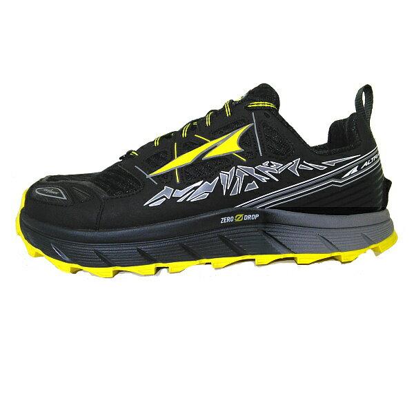 海外限定 ALTRA(アルトラ) LONEPEAK3.0M(ローンピーク3.0)/ブラック/イエロー/US9 A1653-6-090男性用 大人用 ブラック ブーツ 靴 トレッキング アウトドアスポーツシューズ トレイルランシューズ アウトドアギア