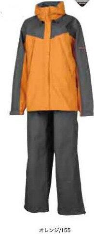 ONYONE(オンヨネ) レディス ブレステック レインスーツ/オレンジ(155)/S ODS83021レインウエア レディースファッション レインスーツ上下セット レインウェア女性用 アウトドアウェア