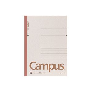 (まとめ)キャンパスノート A4 U罫 30枚 100冊