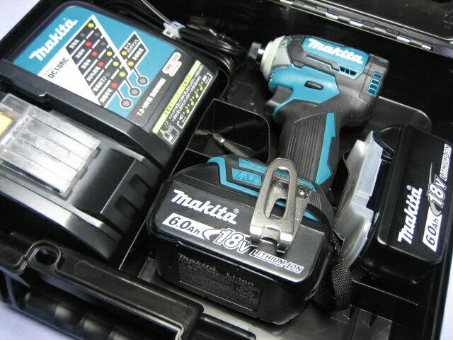 マキタ充電インパクトドライ� TD170DRGX (�) 18V �ッテリー(6.0Ah)2個・充電器・ケースセット