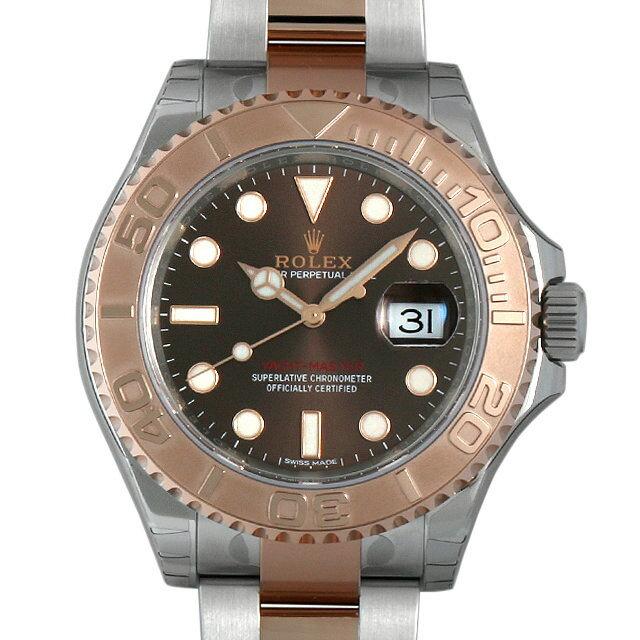 ロレックス ヨットマスター40 チョコレートブラウン 116621 メンズ(0CCTROAN0002)【新品】【腕時計】【送料無料】