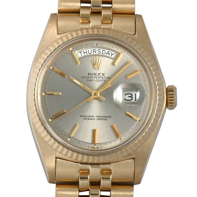 SALE ロレックス デイデイト 24番 1803 グレー メンズ(0063ROAA0029)【アンティーク】【腕時計】【送料無料】