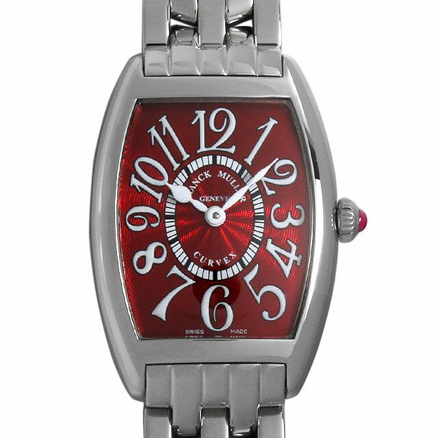フランクミュラー トノーカーベックス レッドカーペット 1752QZ RED CARPET OAC レディース(008KFRAU0033)【中古】【腕時計】【送料無料】