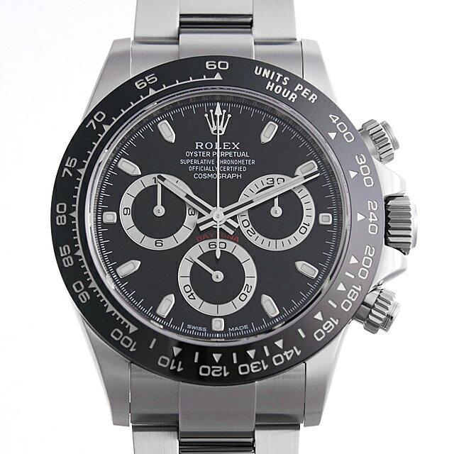 ロレックス コスモグラフ デイトナ 116500LN ブラック メンズ(006XROAU0610)【中古】【腕時計】【送料無料】