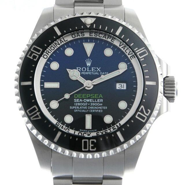 ロレックス ディープシー D-BLUEダイアル 116660 メンズ(0ESUROAU0001)【中古】【腕時計】【送料無料】