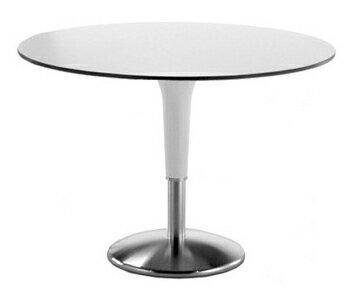 イタリア REXITE レキサイト ZANZIPLANO Round Table デザイナーズ φ119 h75 cm ホワイト