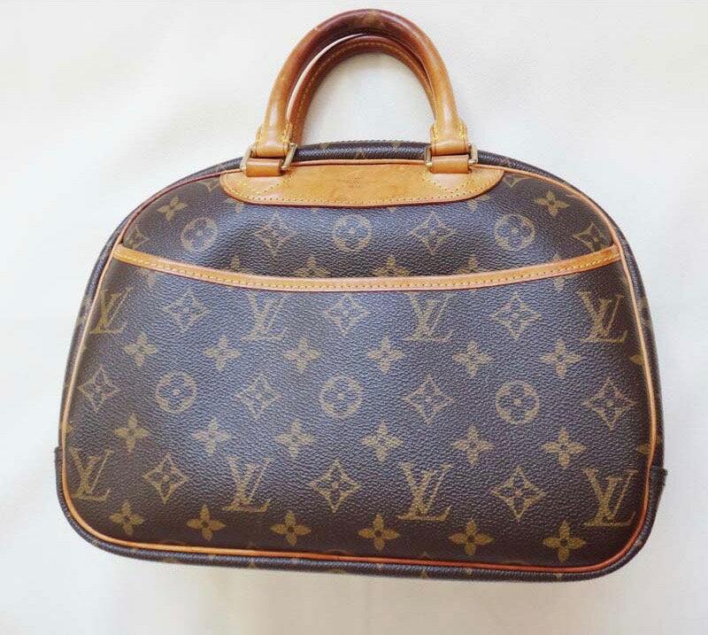 LV Louis Vuitton ルイヴィトン ハンドバッグ トゥルーヴィル モノグラム M42228【中古】