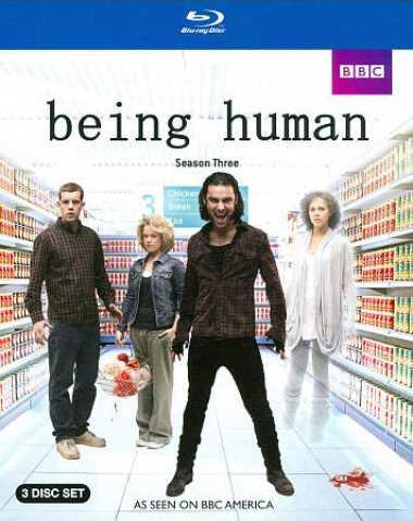 新品北米版Blu-ray!【ビーイング・ヒューマン:シーズン3】 Being Human: Season Three [Blu-ray]!