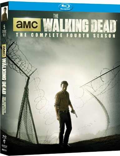 新品北米版Blu-ray!【ウォーキング・デッド:シーズン4】 The Walking Dead: The Complete Fourth Season [Blu-ray]!